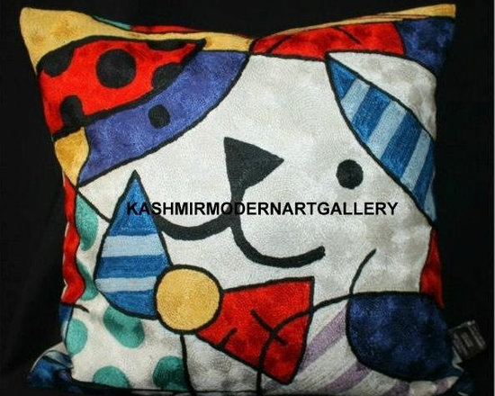 chainstitch  picasso rugs and cushioncovers - chainstitch picasso rugs