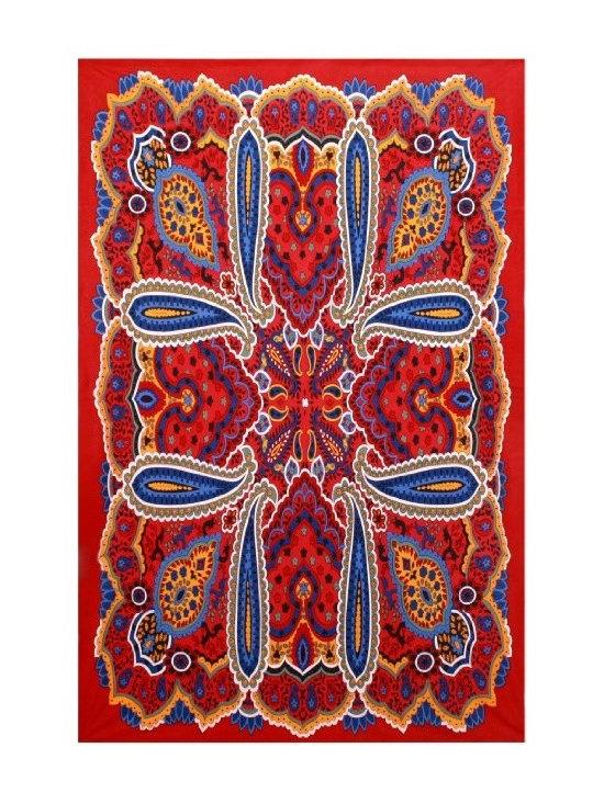 Sunshine Joy Psychedelic Paisley Hippie Tapestry -