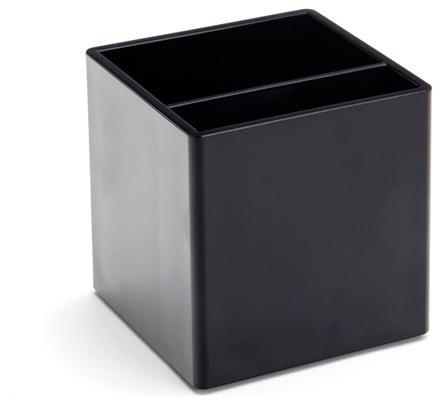 Pen Cup, Black modern-everyday-glassware