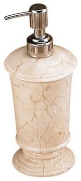 Creative Home Pedestal Marble Soap Dispenser modern-bath-and-spa-accessories