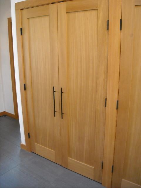 Closet Doors Douglas Fir Contemporary Other Metro