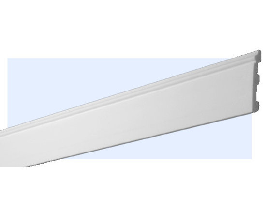 "Inviting Home - Atlanta Flexible Baseboard - Atlanta flexible baseboard 3-1/2""H x 4/8""P x 6'6""L baseboard sold in 6 foot length Flexible material is identical to the Atlanta Baseboard molding and can be butt up against the rigid material. The flexible molding allows for applications on curved walls with an inside or outside radius."