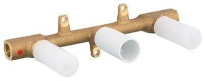 Wall Mount Three Hole Rough in Valve modern-bath-products