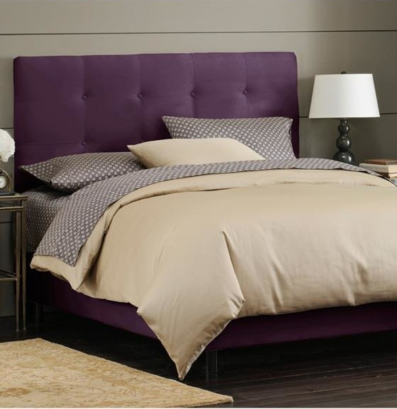 Custom Hadley Upholstered Bed Traditional Beds By Home Decorators Collection