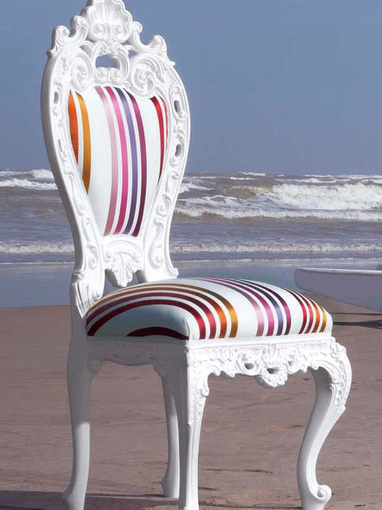 Creazioni Diana Chair - Diana chair from Creazioni. Available on Imagine-living.com; price is depending on the fabric. Ship worldwide. For information email ilive@imagine-living.com