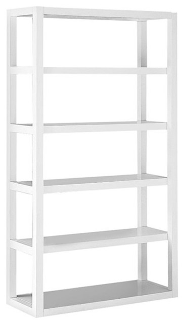 Parson's Tower, White - Modern - Bookcases - by West Elm