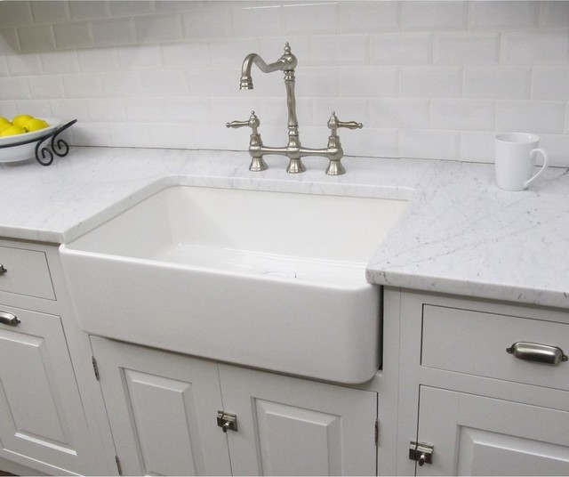 Oversized Sinks Kitchen : Fireclay Butler Large Kitchen Sink - Contemporary - Kitchen Sinks - by ...