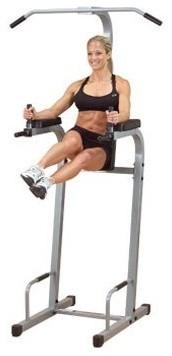 Body-Solid Powerline Vertical Knee Raise Chin Dip modern-home-gym-equipment