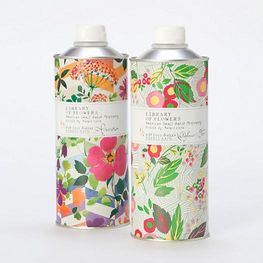 Library of Flowers Arboretum Bubble Bath contemporary-bathroom-accessories