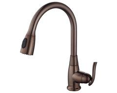 Moen Anabelle Mediterranean Bronze One Handle High Arc Pulldown Kitchen Faucet Kitchen Faucets