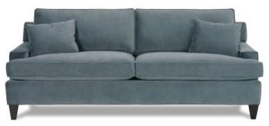 Rowe Chelsey Queen Sleeper Sofa - Indigo modern-sofas