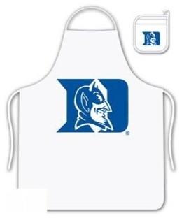 Duke Blue Devils Tailgate Apron and Mitt Set aprons