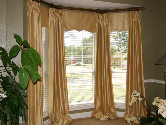 Custom window treatments casual cottage for Custom window treatments