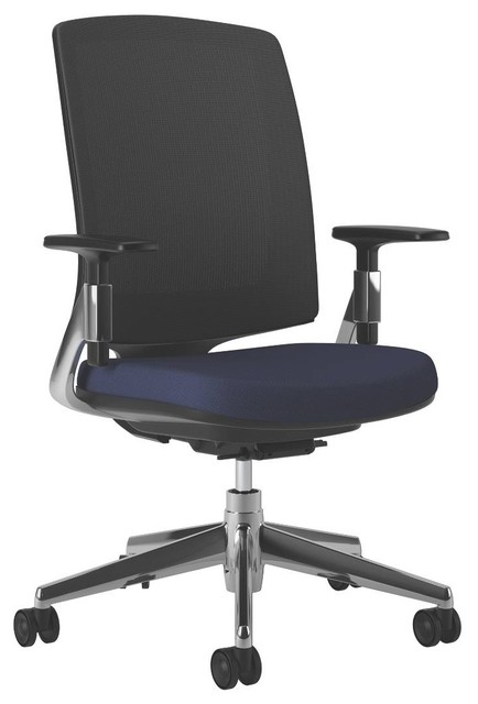 HON Lota Mesh Mid-Back Task Chair | Weight Activated Tilt - Contemporary - Office Chairs - by Rulers