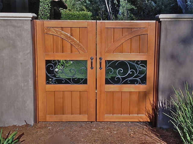 Custom Gates - Modern - Home Fencing And Gates - san diego - by SD Independent Construction