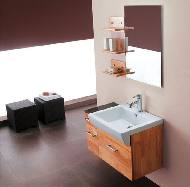 "33.5"" Ford Single Wall-Mounted Vanity modern-bathroom-vanities-and-sink-consoles"