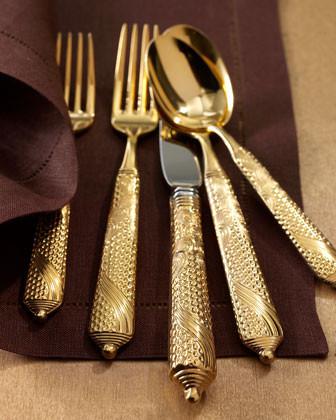 Five-Piece Byzantine Place Setting traditional flatware