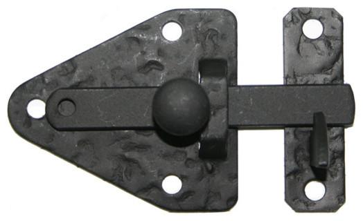 Rough Black Iron Arrowhead Cabinet Latch - Rustic - Home Improvement ...