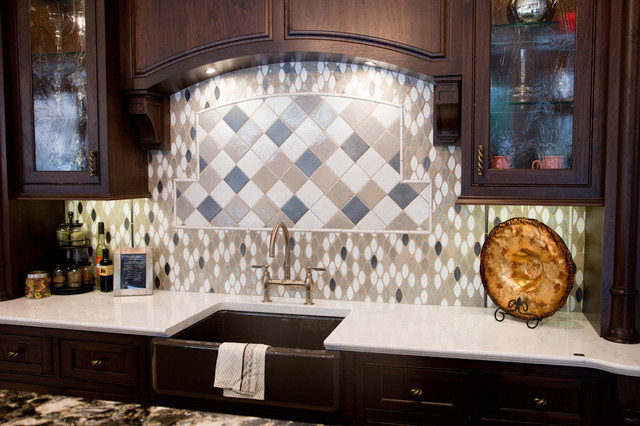 Cambria traditional-kitchen