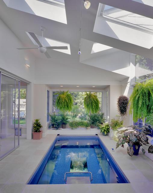 Indoor Endless Pool®, Sunroom - Modern - by Endless Pools