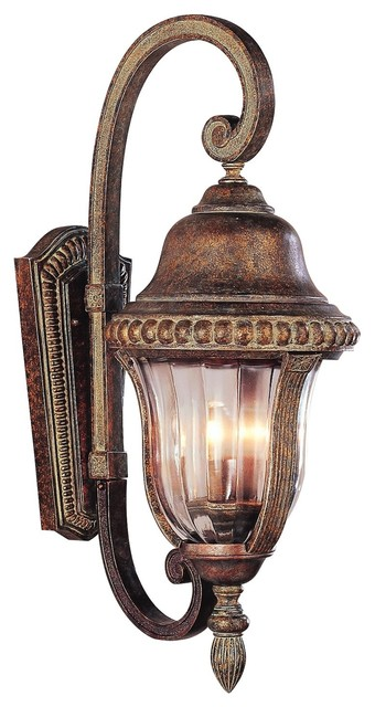 External Wall Lights Traditional : Trans Globe Lighting 4921 ABZ Traditional Outdoor Wall Sconce - Traditional - Outdoor Wall ...