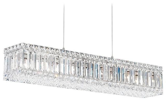 Contemporary Schonbek Quantum Swarovski Elements Crystal Chandelier contemporary-chandeliers