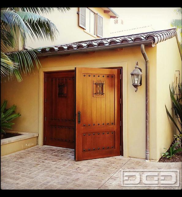 Carriage House Garage Doors For A Golf Simulator Room Aka