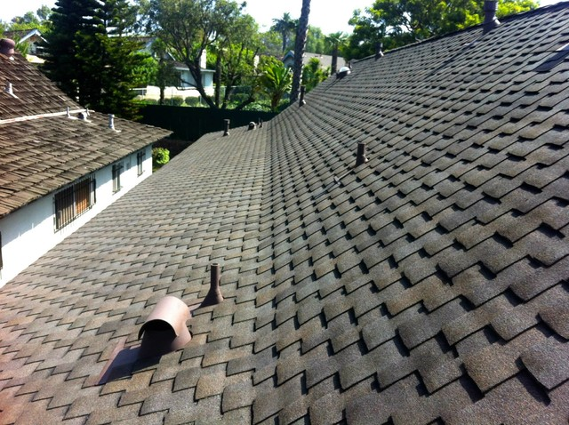 GAF Grand Sequoia Composition Shingle Roofing System - Long Beach, CA rustic