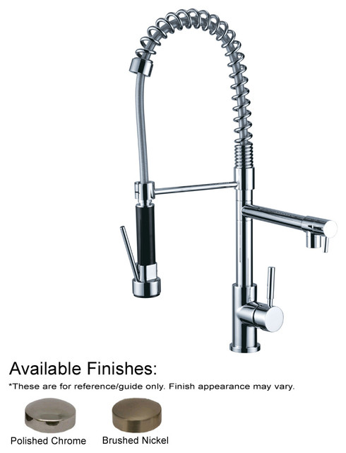 Commercial Kitchen Faucets With Sprayer : ... Commercial Kitchen Faucet With Spray - Modern - Kitchen Faucets - by