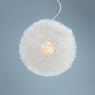 Possini Euro Design Dandelion 15 3 4 Wide Chandelier
