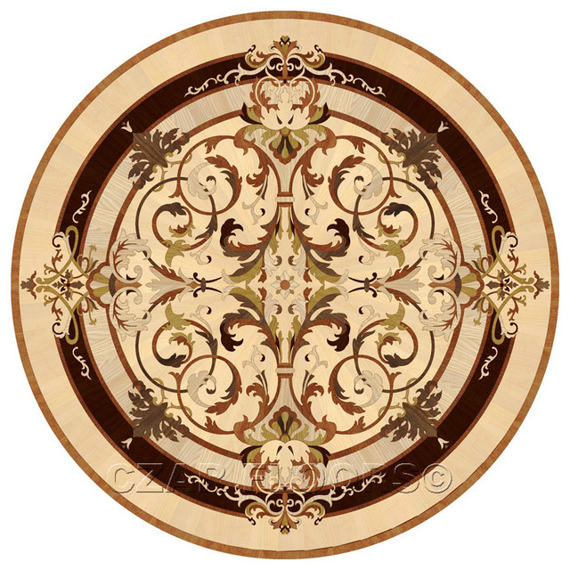 Wood Inlays Collection Floor Medallions And Inlays