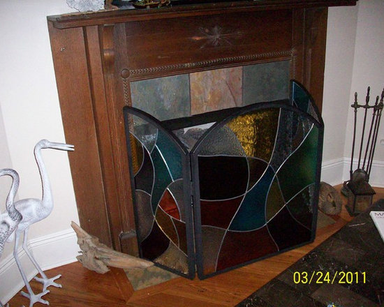 Fire Place Screen -