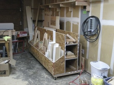 Mobile lumber rack design plans diy free download japanese for Mobile lumber storage rack plans