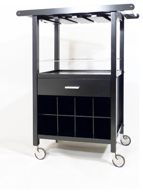 Mendoza Wine Cart - Wine Racks