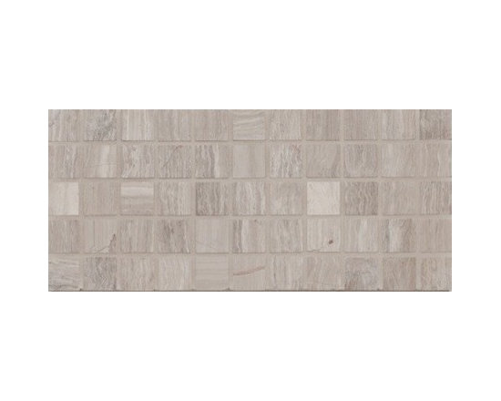 """Mission Stone Tile - Athens Silver Cream Marble - Honed, 1""""x1"""" Mosaic, 1 Square Foot - Sold per Square Foot"""