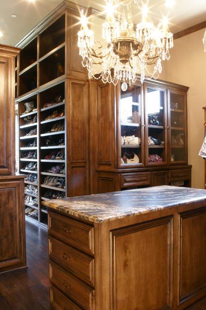 Job # 09-458 Master Closet traditional-closet-organizers