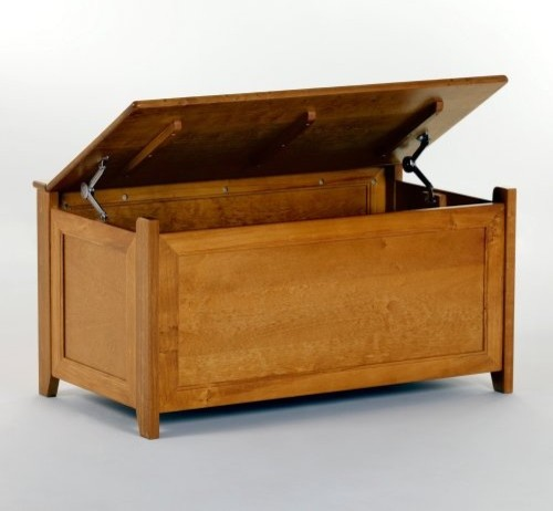 Schoolhouse Toy Box - Pecan - Traditional - Toy Organizers ...