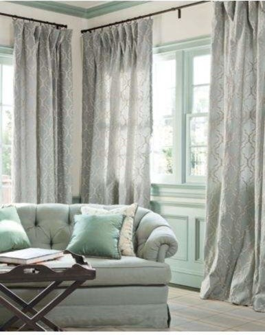 Custom Drapery/ panels contemporary-curtain-rods