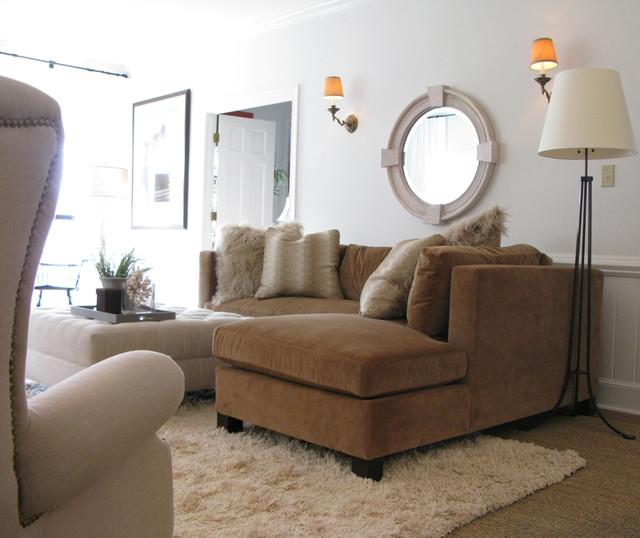 Greensboro, NC contemporary-living-room