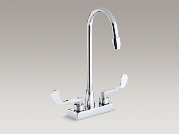 Gooseneck Sink Faucet : ... sink faucet with gooseneck spout - Contemporary - Bathroom Faucets And