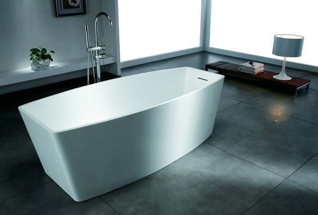 Artificial stone bathtubs in contemporary design contemporary bathtubs