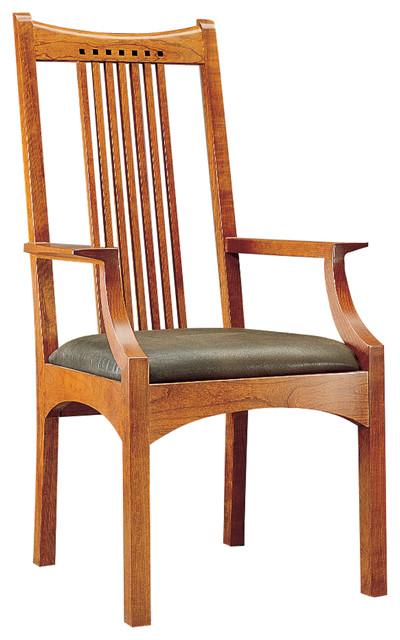 stickley arm chair 91 2043 a