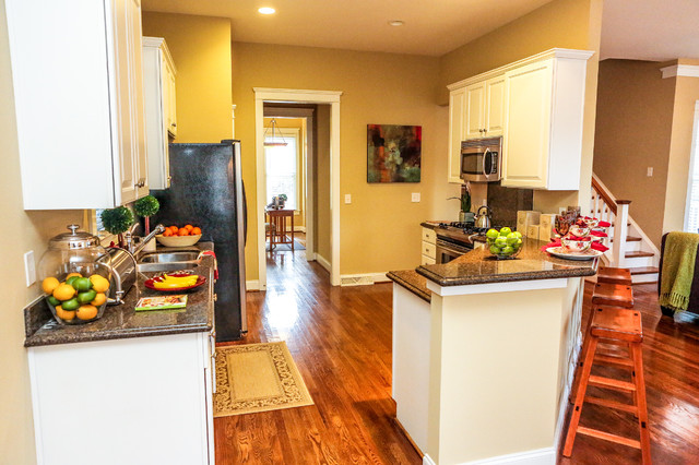 Home Staged by Paisley Blaise Staging & Design traditional-kitchen