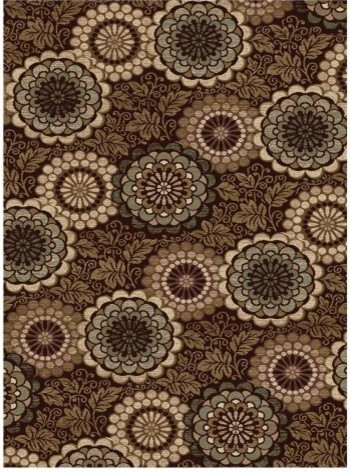 Central Oriental Encore Carolina Area Rug - Dark Wine traditional rugs