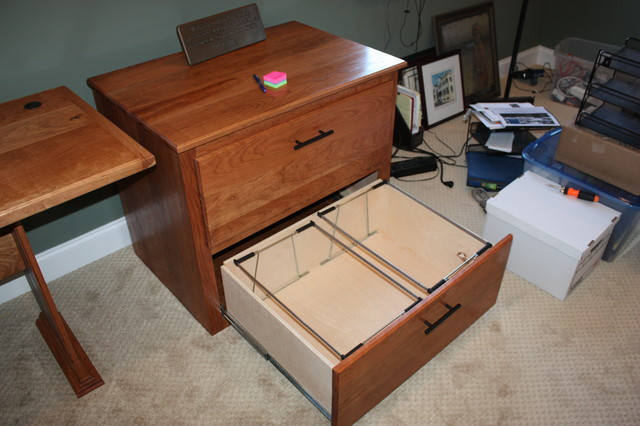 File Cabinet- Cherry - Filing Cabinets - atlanta - by What Wood You ...