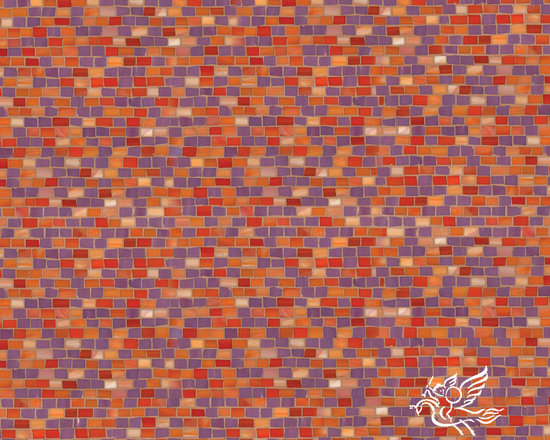 Erin Adams - Smalti - Smalti, a hand cut glass mosaic shown in Sonia and Sardonyx, is part of the Erin Adams Collection for New Ravenna Mosaics.