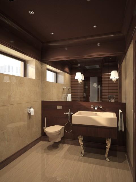 NEMCHINOVKA Bathrooms contemporary-rendering