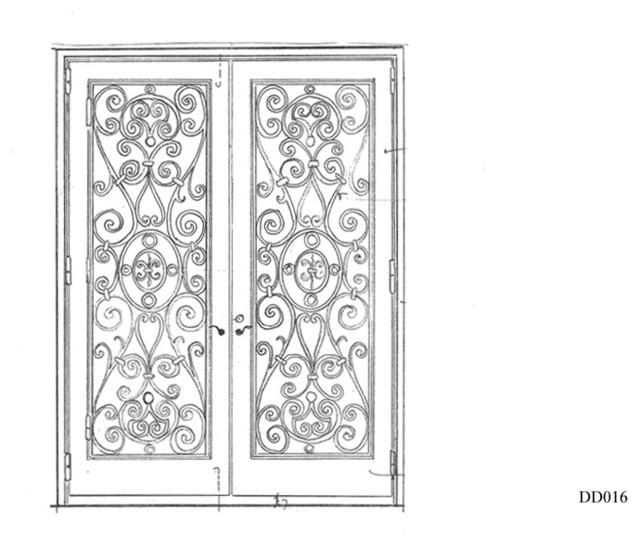 Iron Door Designs traditional