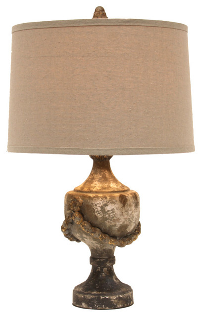 Necklace Finial Lamp Farmhouse Table Lamps by Bliss Home & Design
