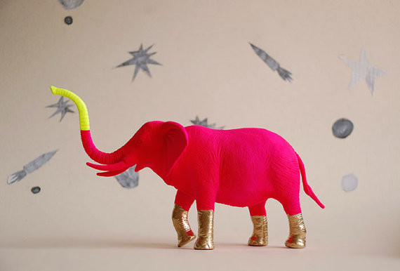 Elephant by The Good Machinery eclectic-home-decor